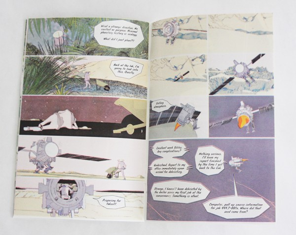 Yonder Gardens Comic Book By Colin Sutherland